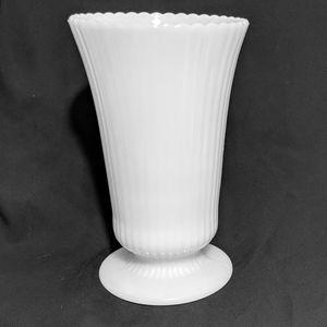 Vintage Large Milk Glass Vase